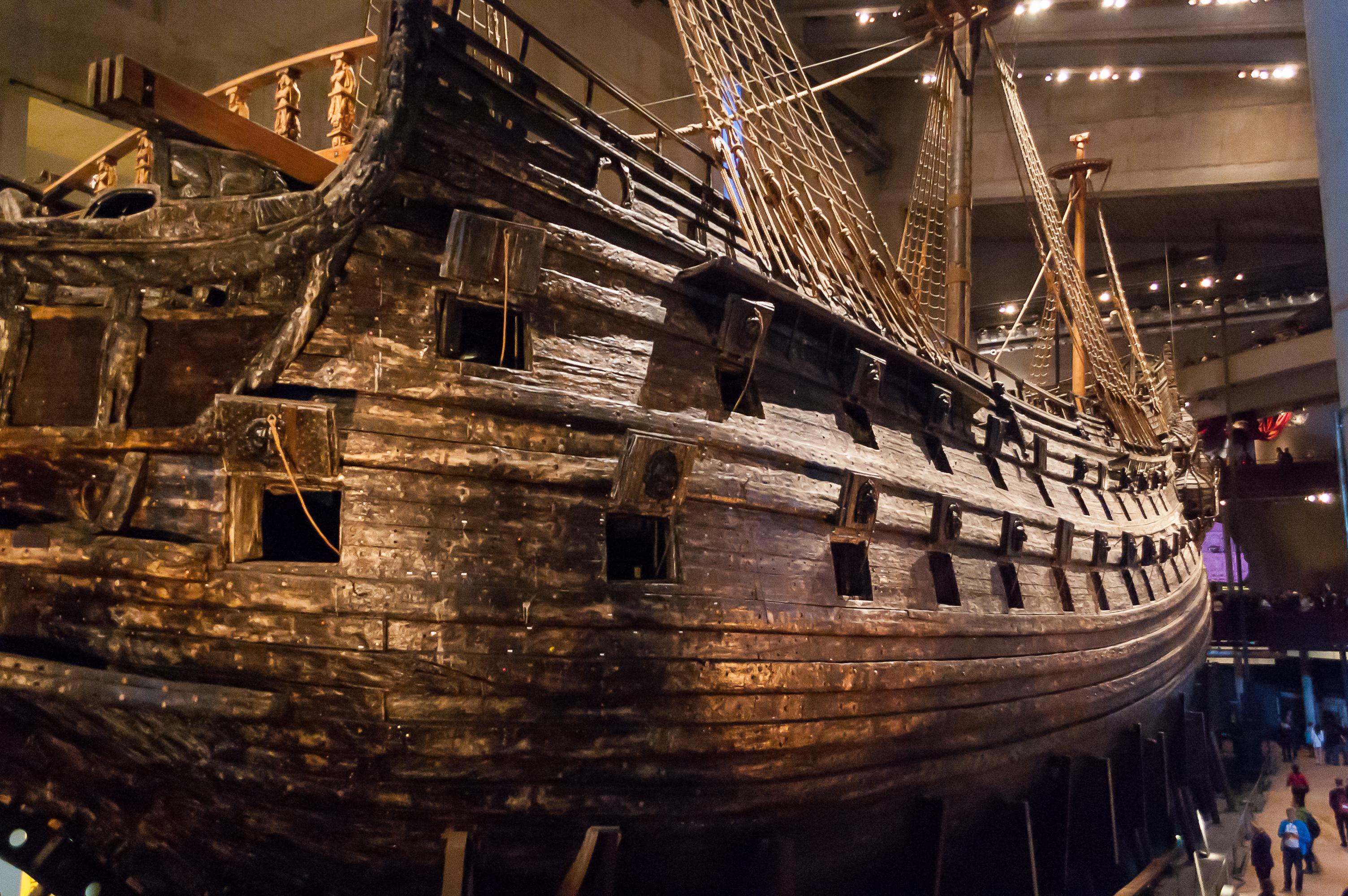 Iv vasa museum pohjoiseen for Vasa ship